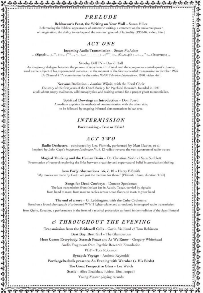 invite by Karen Di Franco for Reception, Plan 9, Bristol.