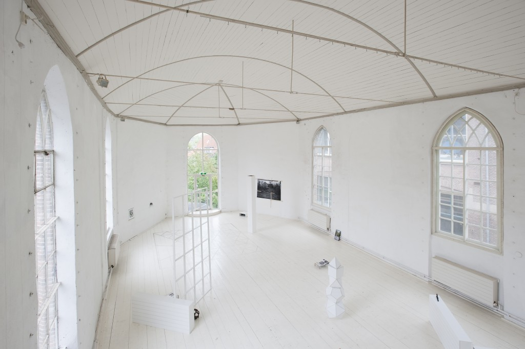 Installation view 'Quiet is the New Loud,' 2010. Curator: Teresa Ianotta. photo Cassander Eeftinck Schattenkerk.