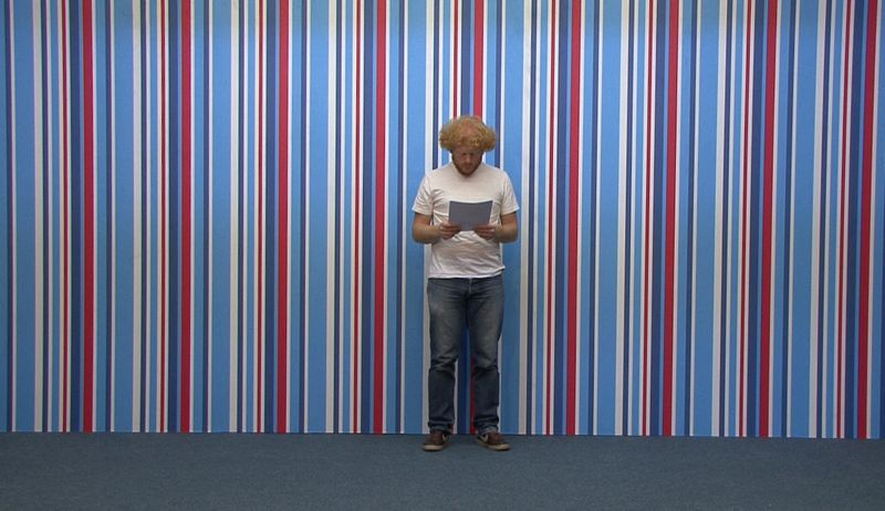 Feiko Beckers reads Lee Walton. Long Distance Call, 2009.