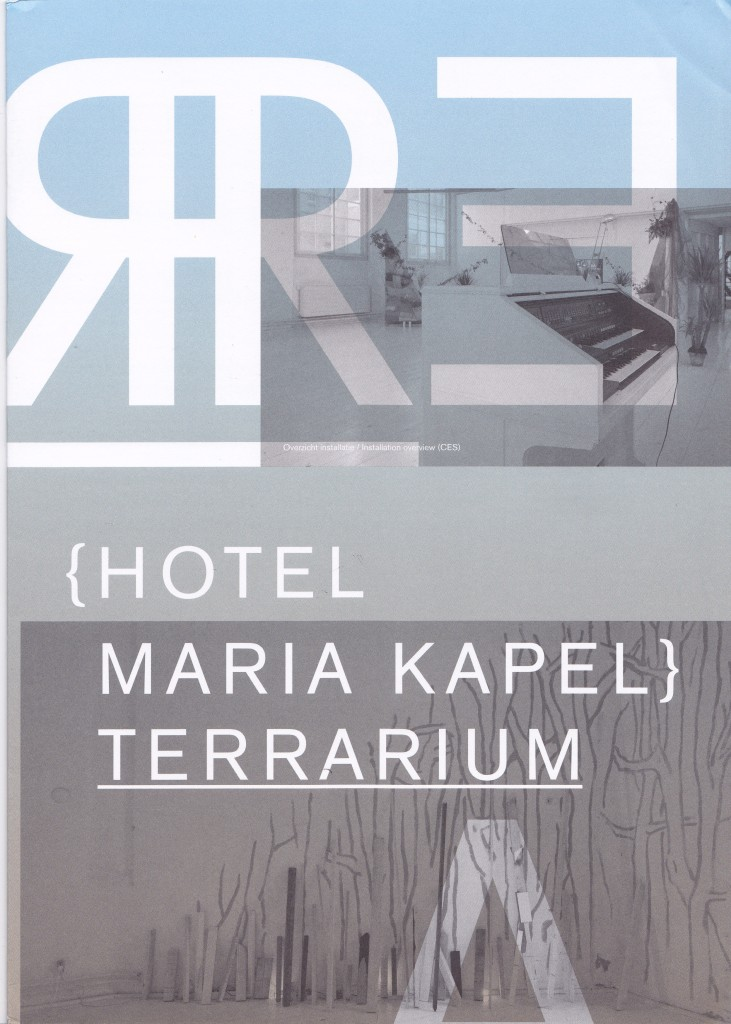 HMK Terrarium booklet cover.